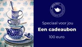 Cadeau bon 100 euro