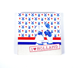 Servetten Ik hou van Holland