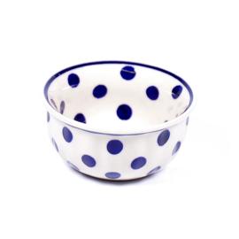 Bakje 9cm - stip blauw