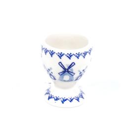 Eierdopje - molen blauw