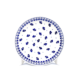 Ontbijtbord - hartje klein