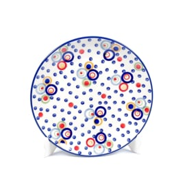 Ontbijtbord unikat - cirkels