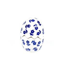 Peper & Zout vaatje unikat - blauw bloemetje