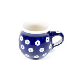 Bolmokje voor espresso - blauw oogje