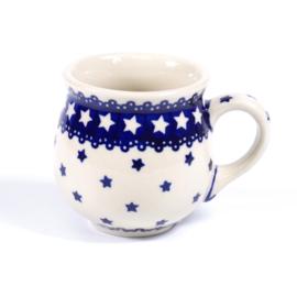 Bolmokje medium ster blauw