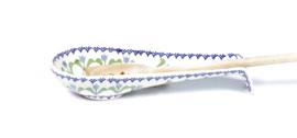 Pollepel legger - tulp blauw
