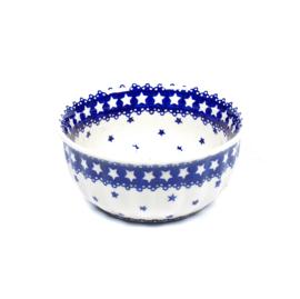 Bakje hoog 400ml - ster blauw