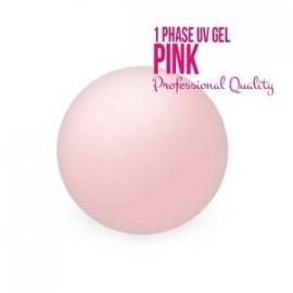 1 fase gel uv light pink  15ml