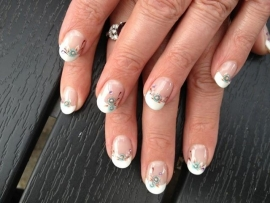 Gelnagels french nailart