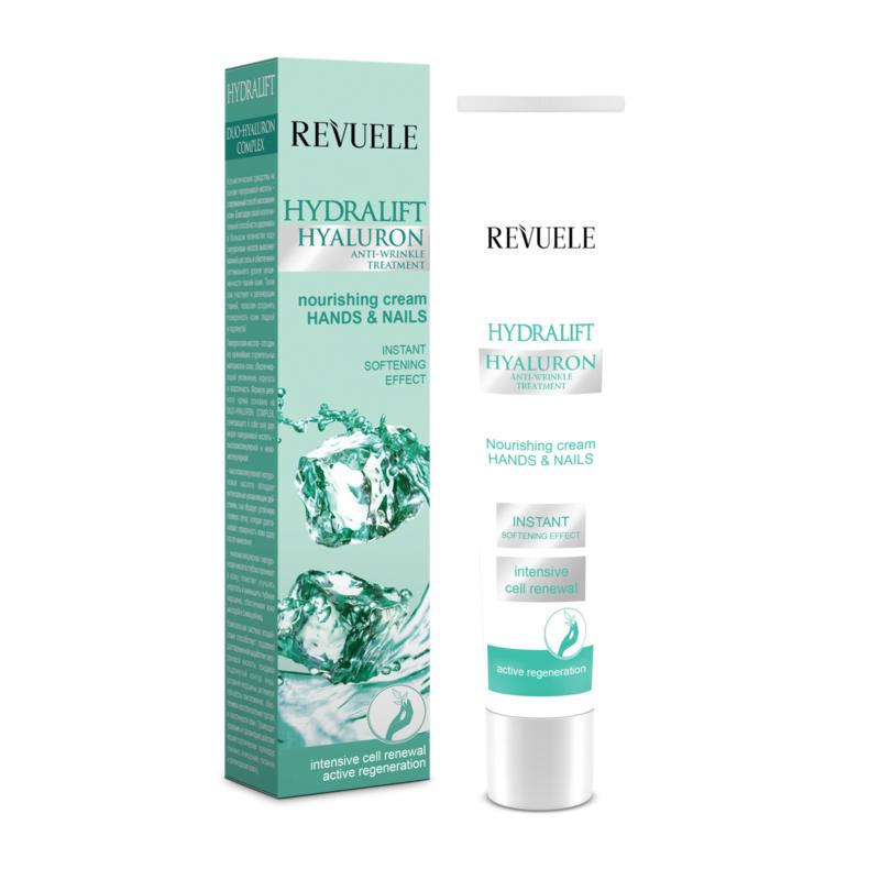 Revuele hand & nail nourishing cream hydralift