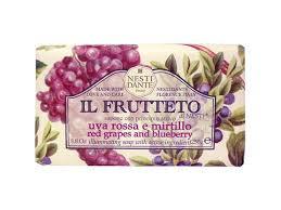 Il Frutteto uva rossa e mirtillo 250 gram