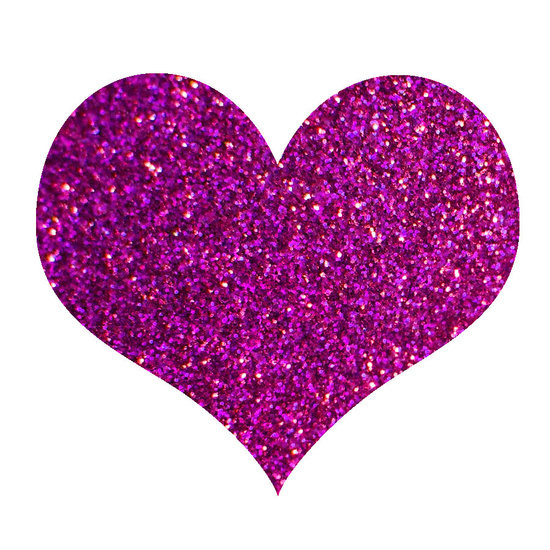 UV gel glitter fuchsia happiness