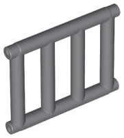 Bar 1 x 4 x 3 Grille with End Protrusions