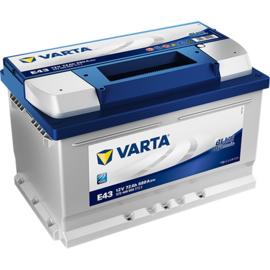 VARTA Blue Dynamic E43 auto accu 12V 72Ah 572409068