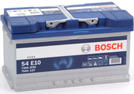 Bosch S4 E10 EFB start-stop auto accu 12V 75Ah