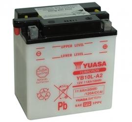 Yuasa Yumicron motor accu 12V 11Ah YB10L-A2