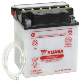 Yuasa Yumicron motor accu 12V 11Ah YB10A-A2