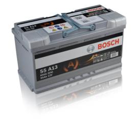 Bosch S5 A13 AGM auto accu 12V 95Ah