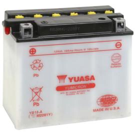 Yuasa Yumicron motor accu 12V 18Ah YB18-A