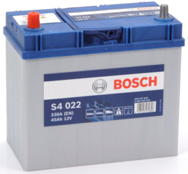 BOSCH S4 022 12V 45Ah auto accu