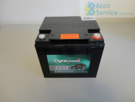 Dyno Europe DAB12-44EV-HD 12V 56Ah AGM Accu