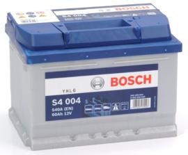 BOSCH S4 004 12V 60Ah auto accu
