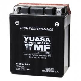 Yuasa High Performance Maintenance Free accu 12V 12Ah YTX14AHL-BS