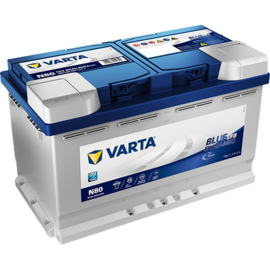 VARTA Blue Dynamic EFB N80 start-stop auto accu 12V 80Ah