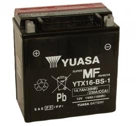 Yuasa Maintenance Free motor accu 12V 14Ah YTX16-BS-1