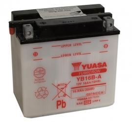 Yuasa Yumicron motor accu 12V 16Ah YB16B-A
