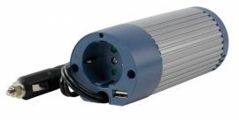 HQ-INV100U-12 - HQ Omvormer 12 - 230V 100W & USB