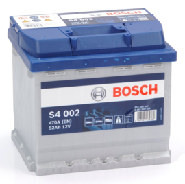BOSCH S4 002 12V 52Ah auto accu