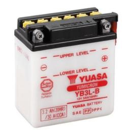 Yuasa Yumicron motor accu 12V 3Ah YB3L-B