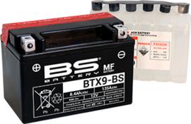 BS BTX9-BS Onderhoudsvrije AGM motor accu 12V 8Ah