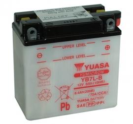 Yuasa Yumicron motor accu 12V 8Ah YB7L-B