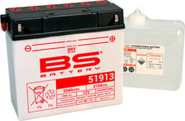 BS 51913 Conventionele motor accu 12V 19Ah