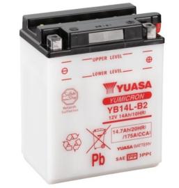Yuasa Yumicron motor accu 12V 14Ah YB14L-B2