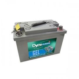 Dyno Europe DGY12-65EV-A pol 12V 75Ah GEL Accu