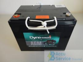 Dyno Europe DAB12-80EV 12V 92Ah AGM Accu