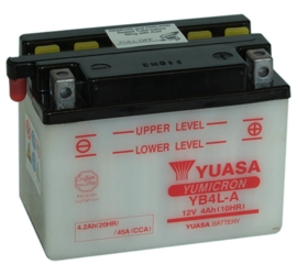 Yuasa Yumicron motor accu 12V 4Ah YB4L-A