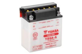Yuasa Yumicron motor accu 12V 9Ah YB9A-A