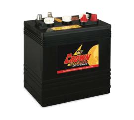Crown Battery CR260HD CR-260 Deep Cycle Accu 6V 260Ah