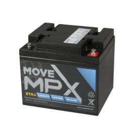 MOVE MPX 50-12 12V 55Ah AGM accu