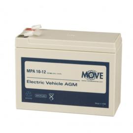 MOVE MPA 10-12 12V 10Ah AGM accu