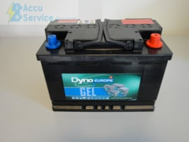 Dyno Europe DGY12-60DEV 12V 56Ah GEL Accu