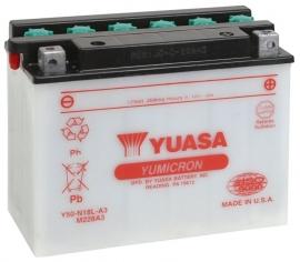 Yuasa Yumicron motor accu 12V 20Ah Y50-N18L-A3