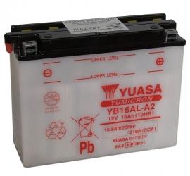 Yuasa Yumicron motor accu 12V 16Ah YB16AL-A2