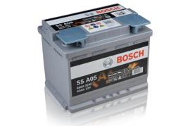Bosch S5 A05 AGM auto accu 12V 60Ah