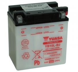 Yuasa Yumicron motor accu 12V 11Ah YB10L-B2