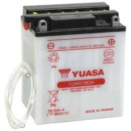 Yuasa Yumicron motor accu 12V 12Ah YB12AL-A